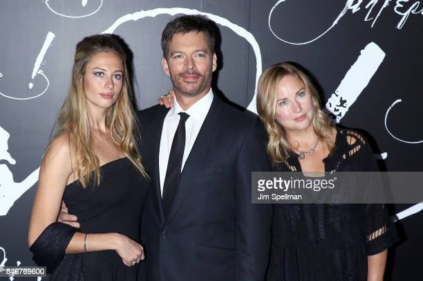 Georgia Tatum Connick singer/TV host Harry Connick Jr and model Jill Goodacre attend the mother New York premiere at Radio City Music Hall on...