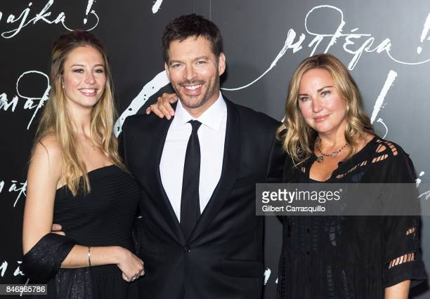Georgia Tatum Connick, singer/TV host Harry Connick Jr and model Jill Goodacre attend 'mother!' New York Premiere at Radio City Music Hall on...