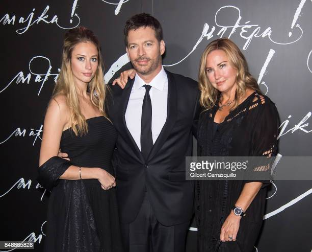 Georgia Tatum Connick singer/TV host Harry Connick Jr and model Jill Goodacre attend 'mother' New York Premiere at Radio City Music Hall on September...