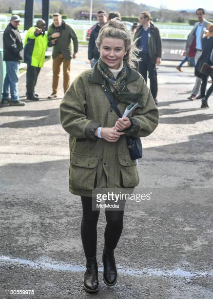 Georgia Toffolo at ST Patrick's Thursday at Cheltenham Racecourse for The Festival 2019 on March 14 2019 in Cheltenham Gloucestershire England