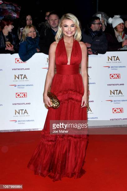 Georgia Toffolo attends the National Television Awards held at The O2 Arena on January 22 2019 in London England
