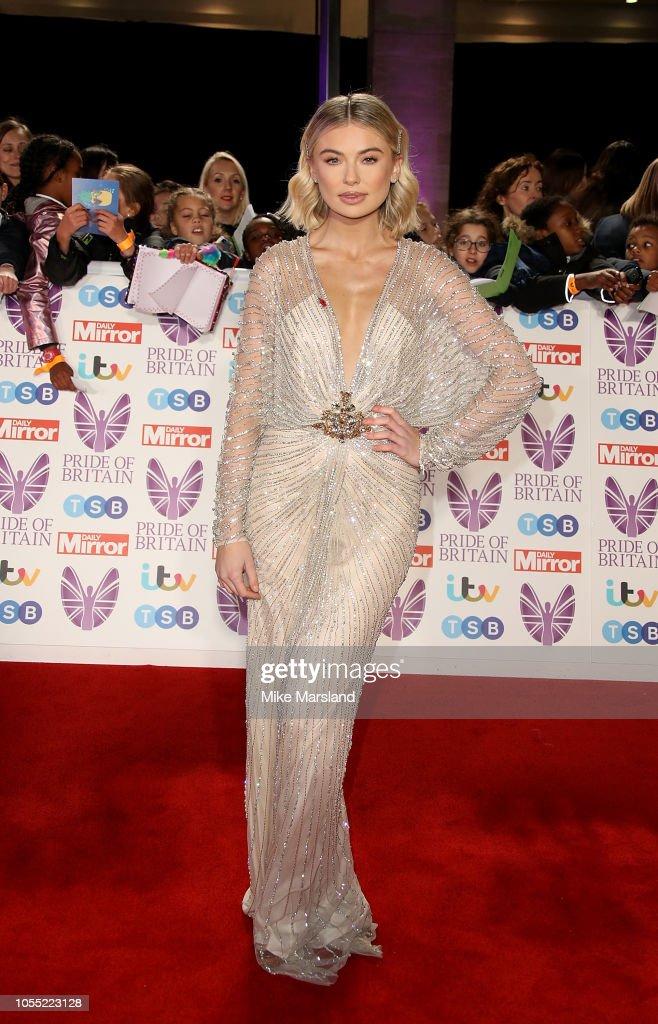 Pride of Britain Awards 2018 - Red Carpet Arrivals : News Photo