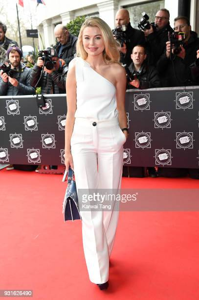 Georgia Toffolo attends the TRIC Awards 2018 held at the Grosvenor House Hotel on March 13 2018 in London England