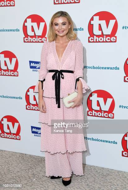 Georgia Toffolo attends the TV Choice Awards at The Dorchester on September 10 2018 in London England