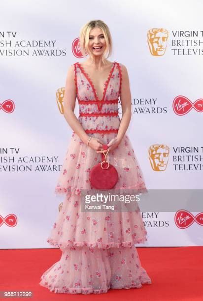 Georgia Toffolo attends the Virgin TV British Academy Television Awards at The Royal Festival Hall on May 13 2018 in London England