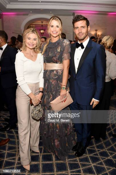 Georgia Toffolo Vogue Matthews and Spencer Matthews at the British Takeaway Awards 2018 in association with Just Eat at The Savoy Hotel on November...