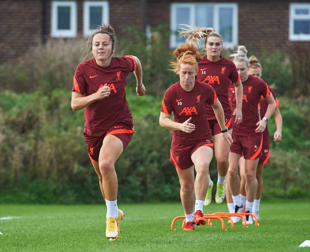 GBR: Liverpool Women Training Session