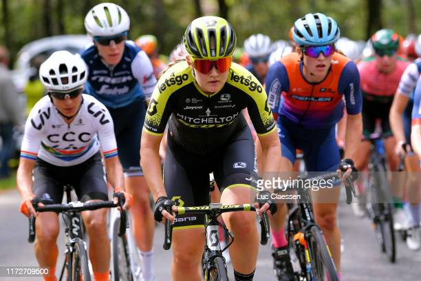 Georgia Williams of New Zealand and Team Mitchelton Scott / during the 22nd Boels Rental Ladies Tour 2019 Stage 3 a 1568km stage from Nijverdal to...