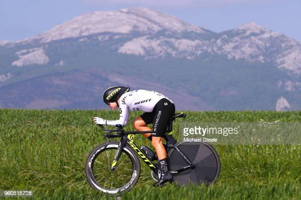 Georgia Williams of New Zealand and Team MitcheltonScott / during the 31st Women WT Emakumeen Bira 2018 Stage 2 a 266km Individual Time Trial stage...