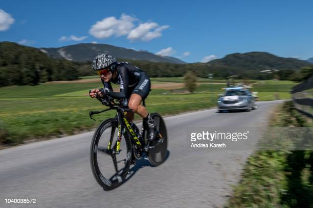 Georgia Williams of New Zealand during the Women Elite Individual Time Trial of UCI 2018 Road World Championships on September 25 2018 in Tyrol...