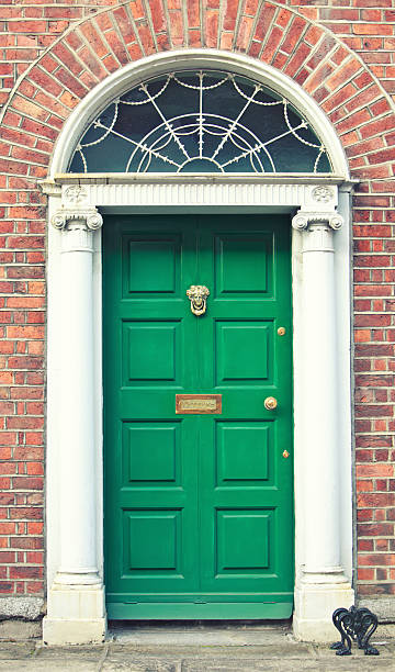 Georgian door Dublin Ireland