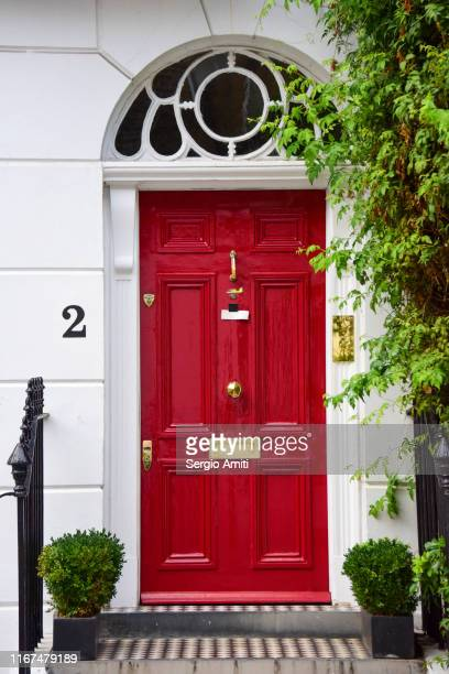 georgian door with fanlight frame - number 2 stock pictures, royalty-free photos & images