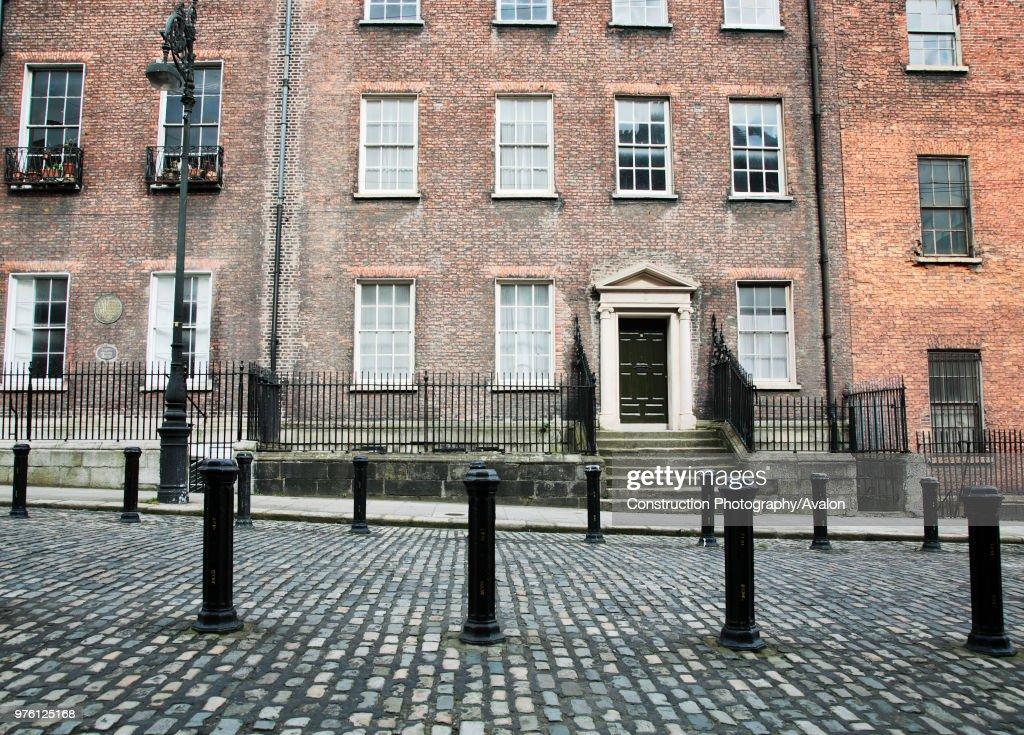 Georgian Houses Henrietta St Dublin Ireland 2008 Dating From The 1720s This