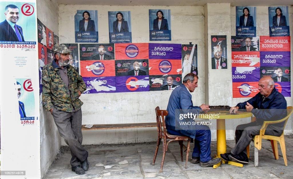GEORGIA-POLITICS-ELECTION : News Photo