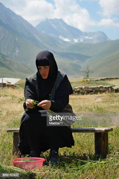 Georgian nun