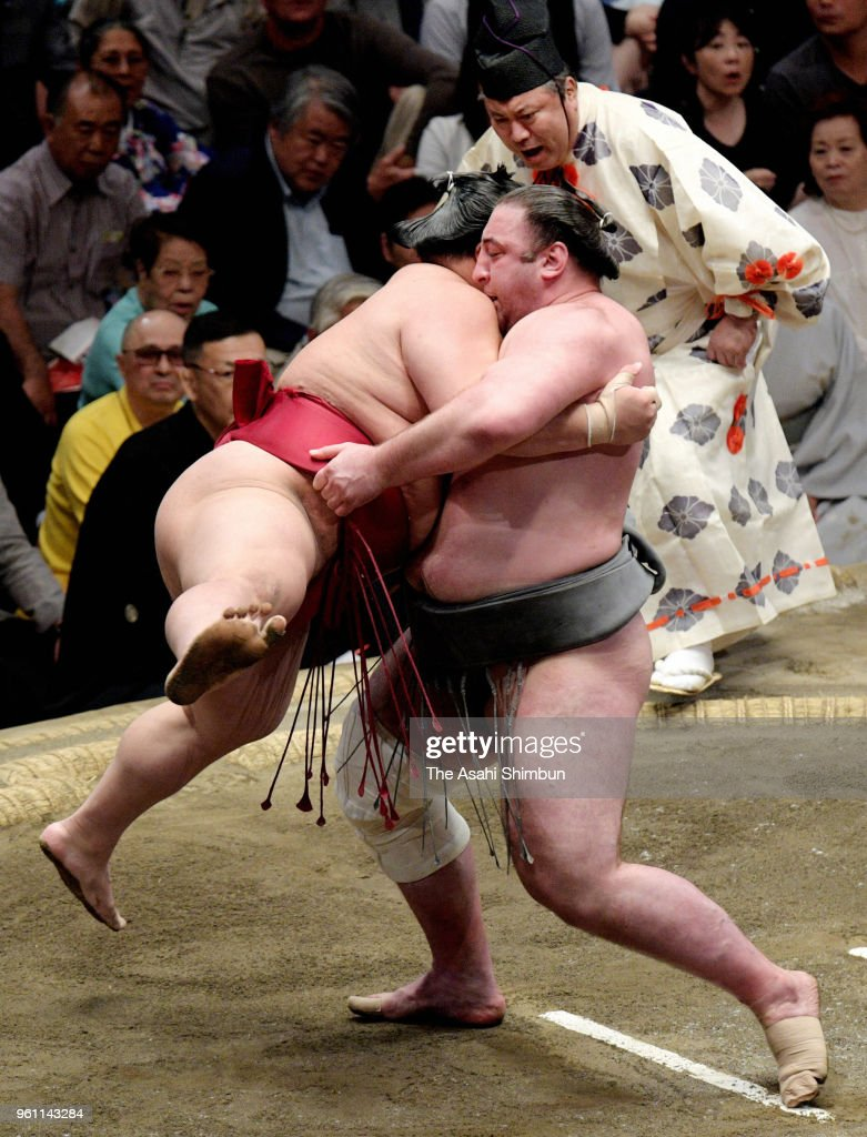 Grand Sumo Summer Tournament - Day 9