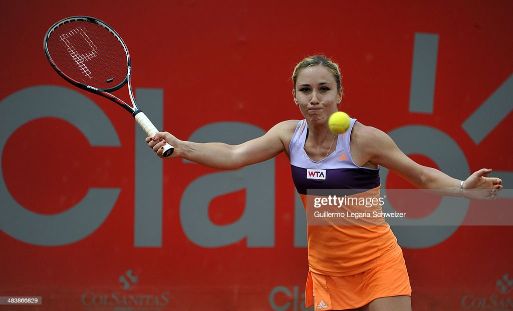 Claro Open Colsanitas - Jelena Jankovic v Sofia Shapatava : News Photo