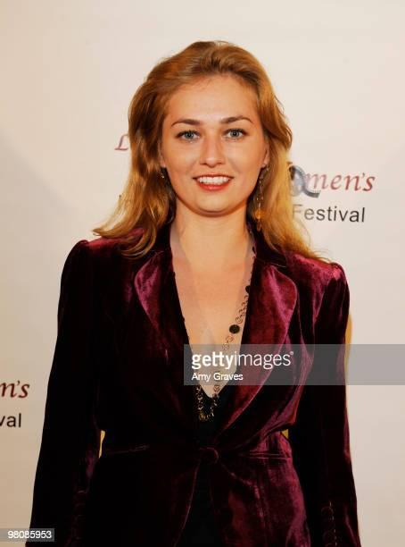 Georgiana Jianu attends the Los Angeles Women's International Film Festival Opening Night Gala at Libertine on March 26 2010 in Los Angeles California