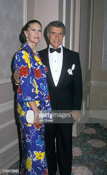 Georgiana Young and Ricardo Montalban during 18th Annual Nosotros Golden Eagle Awards at Beverly Hilton Hotel in Beverly Hills California United...