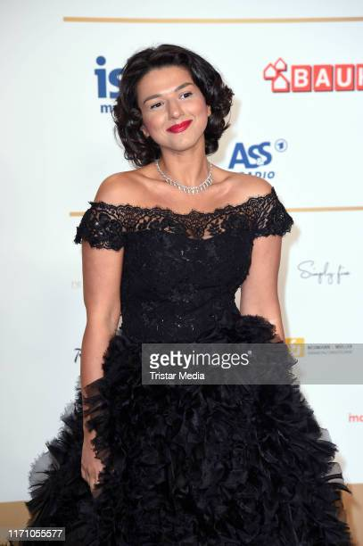 Georgianfrench pianist Khatia Buniatishvili attends the Deutscher Radiopreis at Elbphilharmonie on September 25 2019 in Hamburg Germany