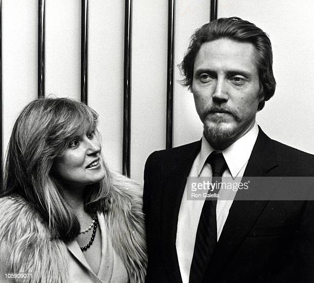 Georgianna Walken and Christopher Walken during Heaven's Gate New York City Premiere at Cinema 1 in New York City New York United States