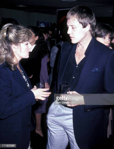 Georgianna Walken and Christopher Walken during Opening Party for 'Q' at US Steak House in New York City New York United States