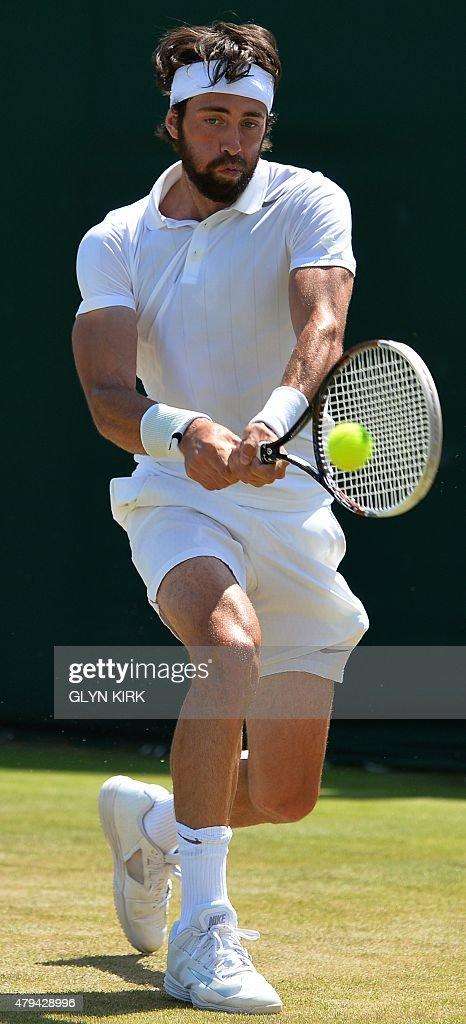 TENNIS-GBR-WIMBLEDON : News Photo