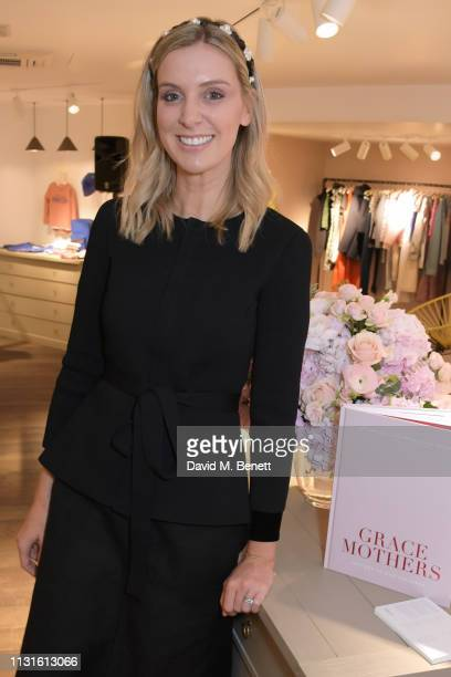 Georgie Abay attends a party celebrating Bonpoint x The Grace Tales at the Bonpoint Marylebone store on March 19 2019 in London England