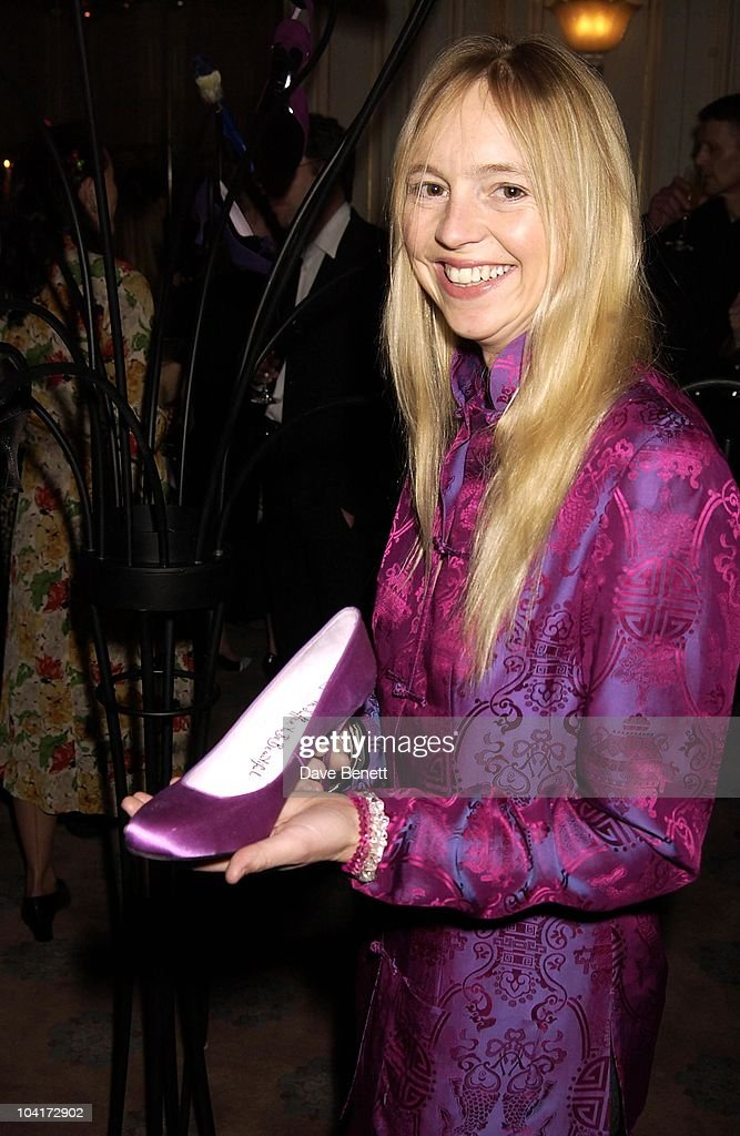 Georgie Channon, Bag Designer Lulu Guinness Launched Her New Shoe Shop With A Party At Clarridges Hotel, London