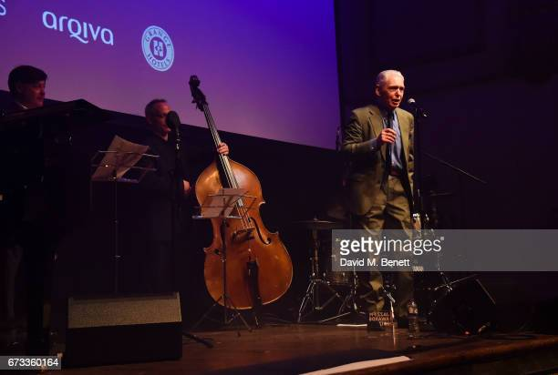 Georgie Fame attends the Jazz FM Awards 2017 at Shoreditch Town Hall on April 25 2017 in London England