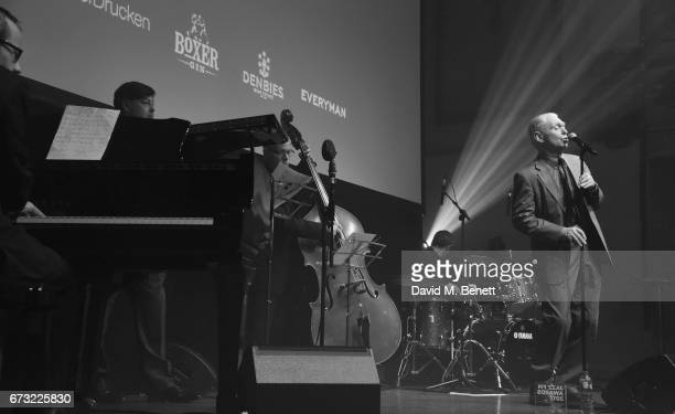 Georgie fame performs at the Jazz FM Awards 2017 at Shoreditch Town Hall on April 25 2017 in London England