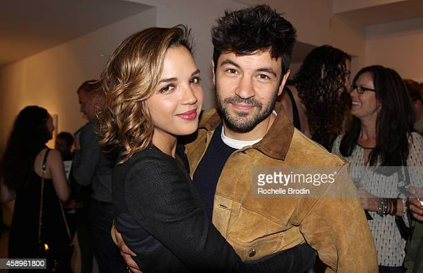 Georgie Flores and Jordan Masterson attend the LA ODYSSEY Reverie Collaboration Shot By Lily Flores Serge Gil Scarlet Mann Hosted By Juliette Lewis...