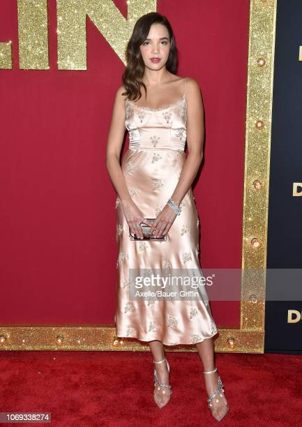 Georgie Flores attends the premiere of Netflix's 'Dumplin' at TCL Chinese 6 Theatres on December 6 2018 in Hollywood California