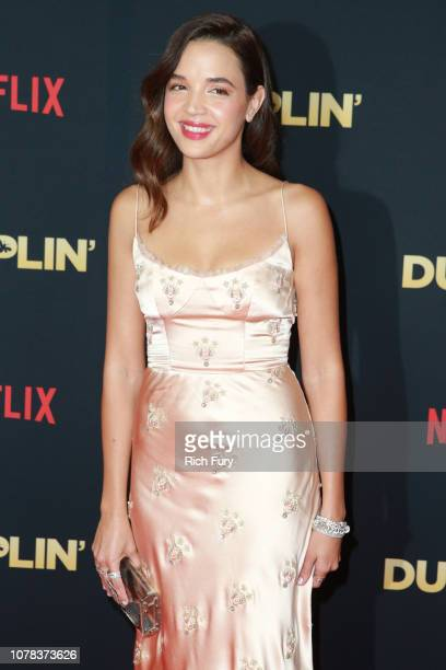 Georgie Flores attends the premiere of Netflix's 'Dumplin'' at TCL Chinese 6 Theatres on December 06 2018 in Hollywood California