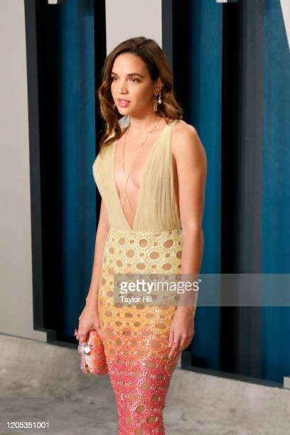 Georgie Flores attends the Vanity Fair Oscar Party at Wallis Annenberg Center for the Performing Arts on February 09 2020 in Beverly Hills California