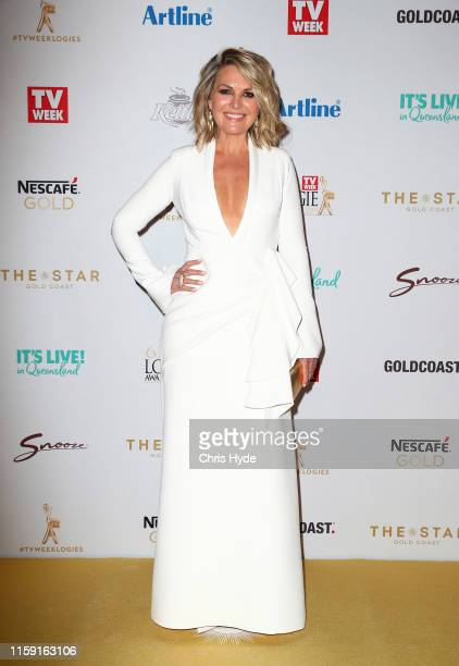 Georgie Gardner arrives at the 61st Annual TV WEEK Logie Awards at The Star Gold Coast on June 30 2019 on the Gold Coast Australia