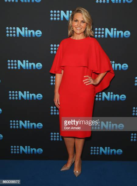 Georgie Gardner poses during the Channel Nine Upfronts 2018 event on October 11 2017 in Sydney Australia
