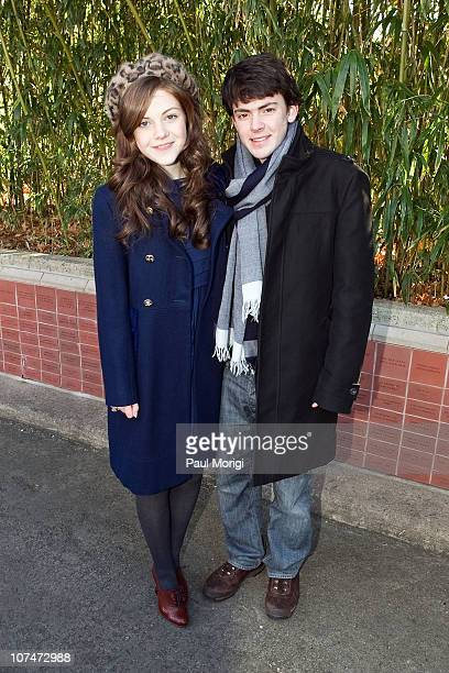Georgie Henley and Skandar Keynes who star in the upcoming holiday motion picture event The Chronicles of Narnia The Voyage of the Dawn Treader...