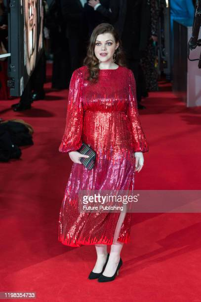 Georgie Henley attends the EE British Academy Film Awards ceremony at the Royal Albert Hall on 02 February 2020 in London England PHOTOGRAPH BY...