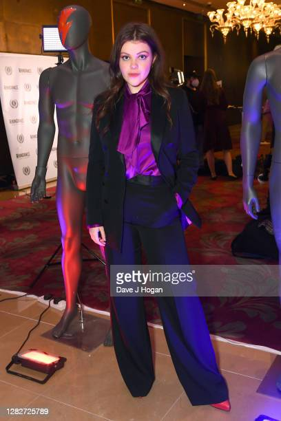 """Georgie Henley attends the """"Stardust"""" Opening Film & UK Premiere during the 28th Raindance Film Festival at The May Fair Hotel on October 28, 2020 in..."""