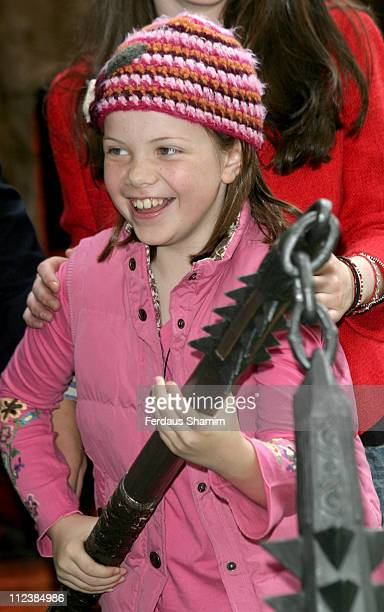 Georgie Henley during National School Film Week Launch at Odeon Leicester Square in London Great Britain