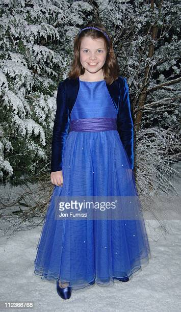 Georgie Henley during The Chronicles of Narnia The Lion The Witch and the Wardrobe London Premiere After Party at Kensington Gardens in London Great...