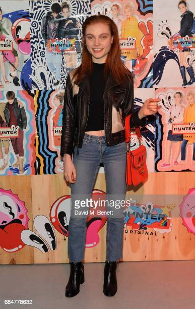 Georgie Hobday attends the Hunter Festival Kick Off Party on May 18 2017 in London England