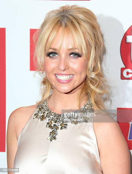 Georgie Porter attends the TV Choice awards 2012 at The Dorchester on September 10, 2012 in London, England.
