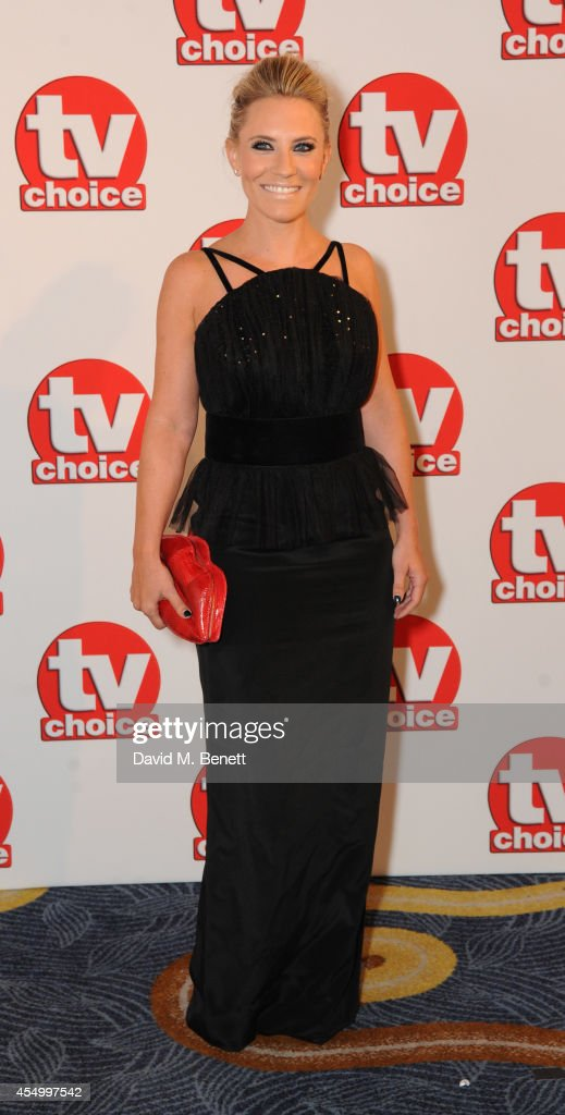 Georgie Thompson attends the TV Choice Awards 2014 at the London Hilton on September 8, 2014 in London, England.