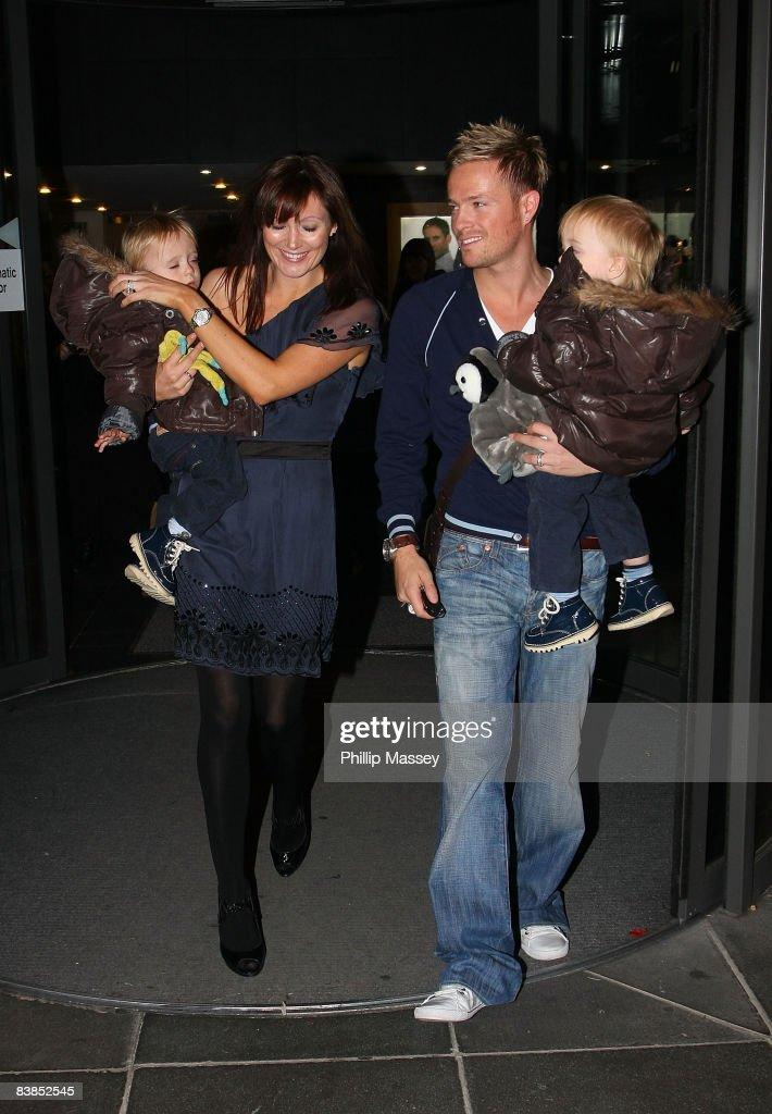 edeed89c01 Georgina Ahern, Nicky Byrne and their twins Rocco and Joy appear on ...