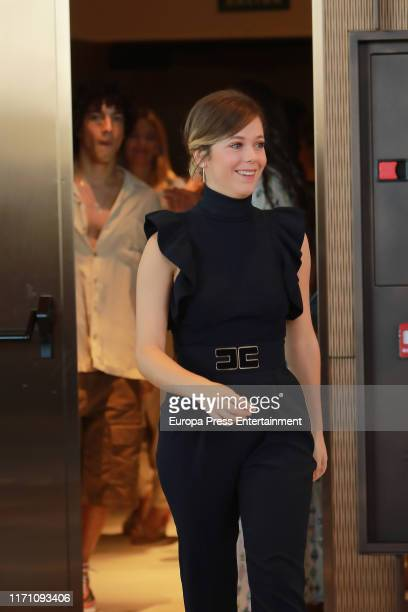 Georgina Amoros attends 'Elite' photocall on August 29 2019 in Madrid Spain