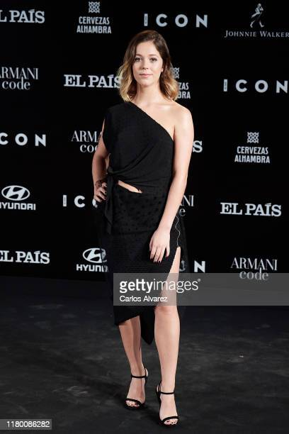 Georgina Amoros attends 'ICON' magazine awards at Real Fabrica de Tapices on October 09 2019 in Madrid Spain