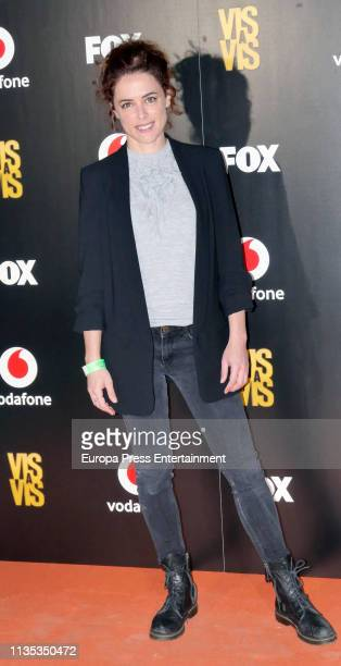 Georgina Amoros attends Najwa Nimri and Mala Rodriguez Concert at Barcelo Theatre on March 07 2019 in Madrid Spain