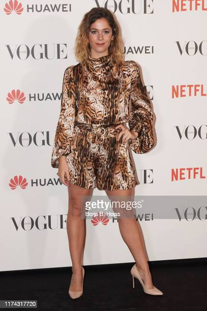 Georgina Amoros attends to Vogue Fashion Night Out 2019 on September 12 2019 in Madrid Spain